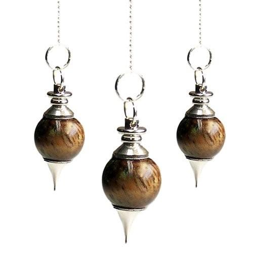 Sphere Pendulums Tigereye