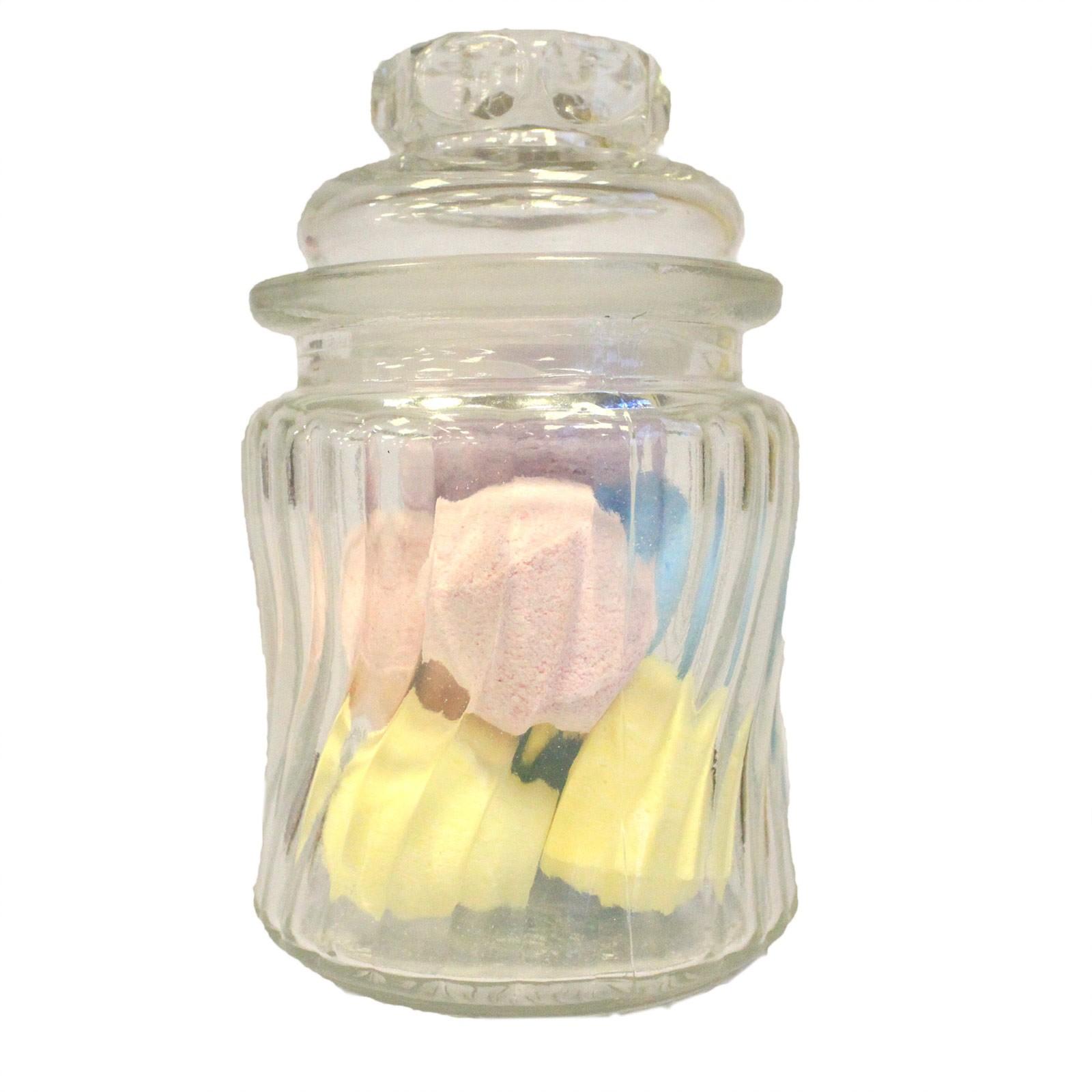 Candy Jars Swirl Ribs