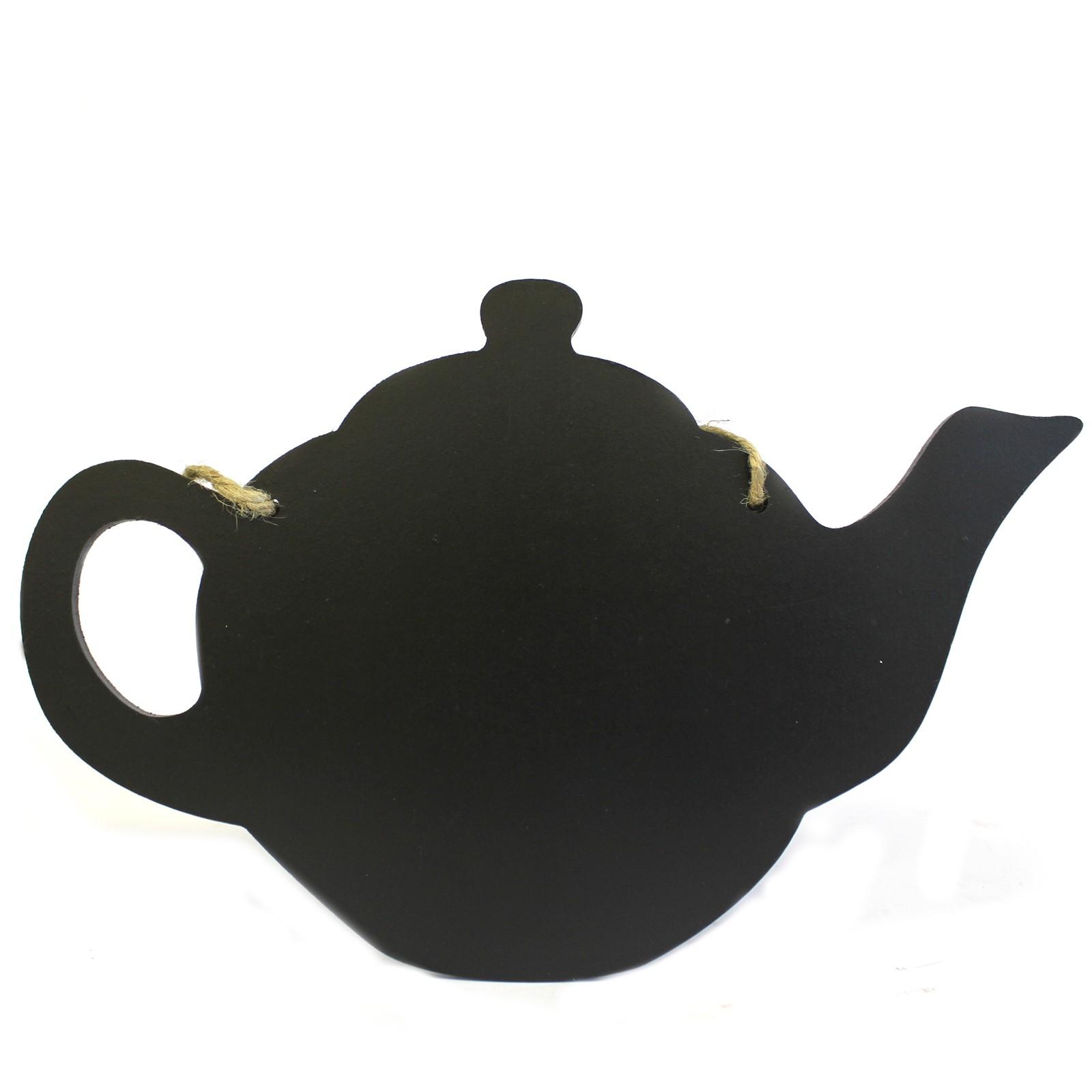 Chalk Board Tea Pot