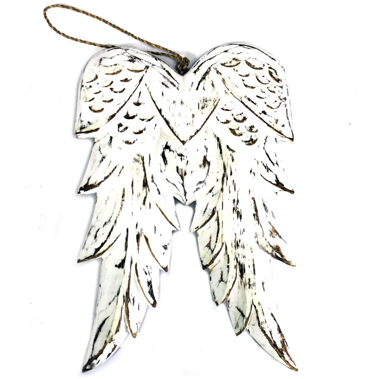 Hand Crafted Double Angel Wing 31cm