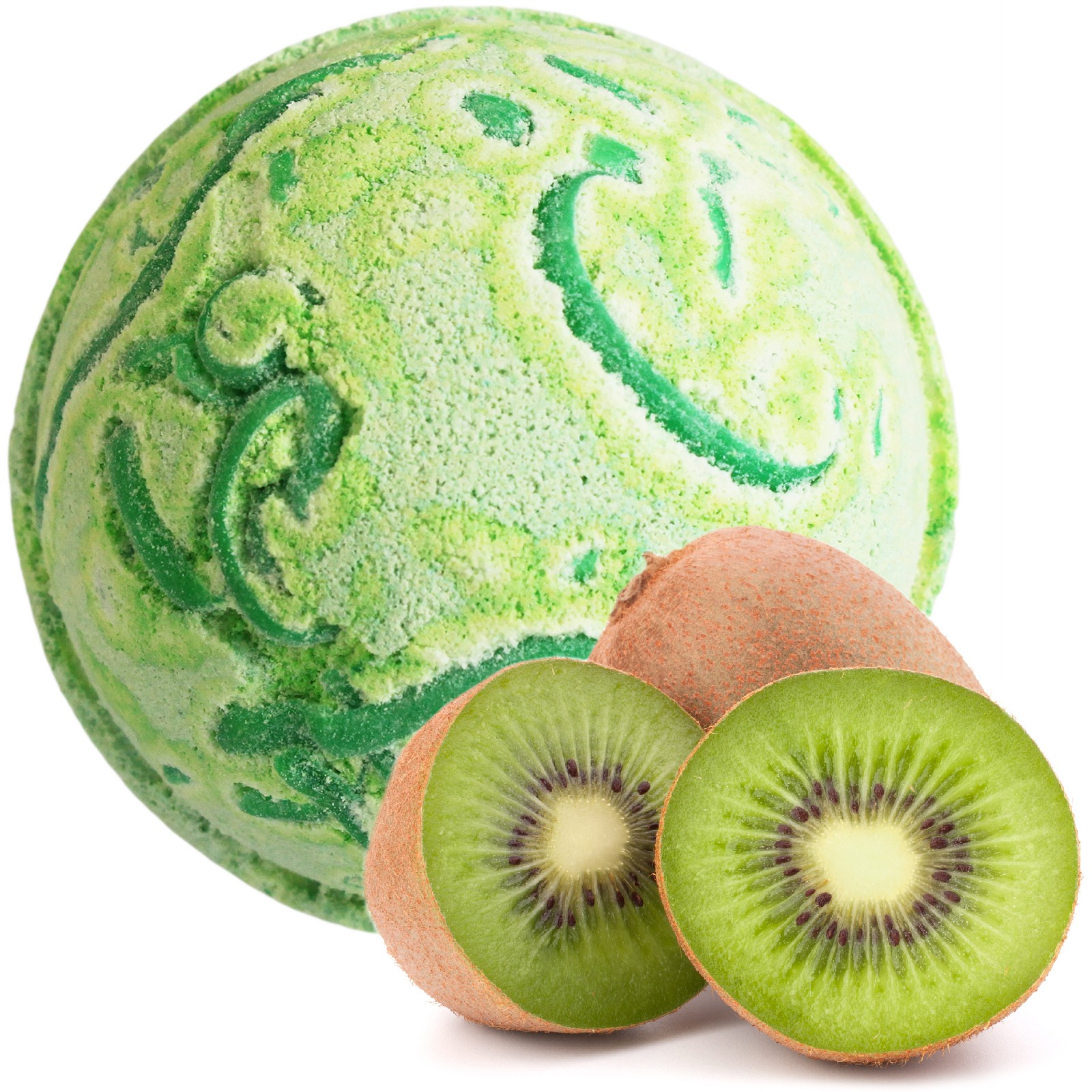 Tropical Paradise Coco Bath Bomb Kiwi Fruit