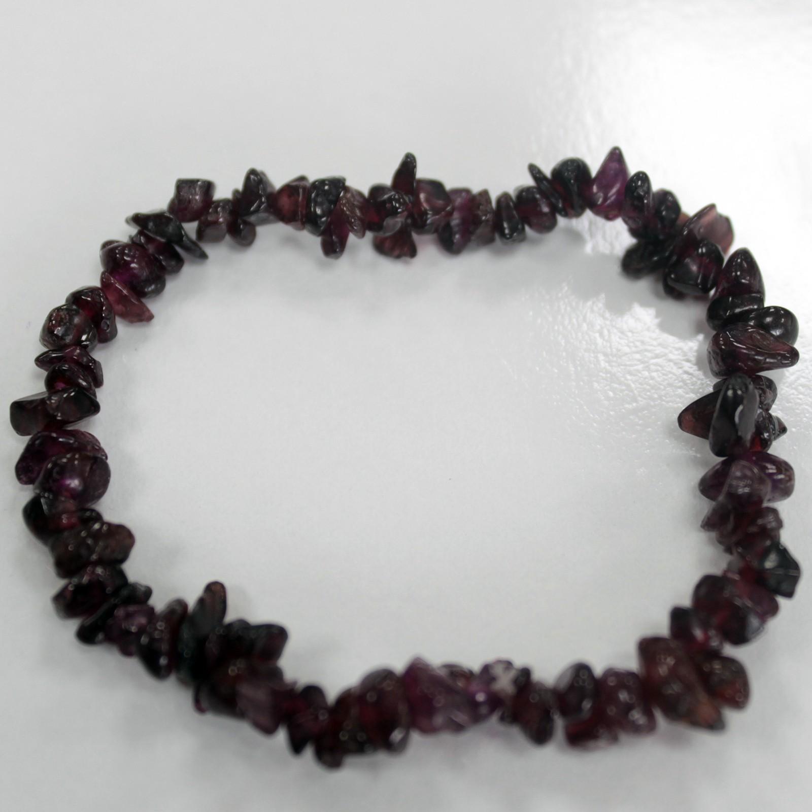 Chipstone Bracelet Blood Garnet