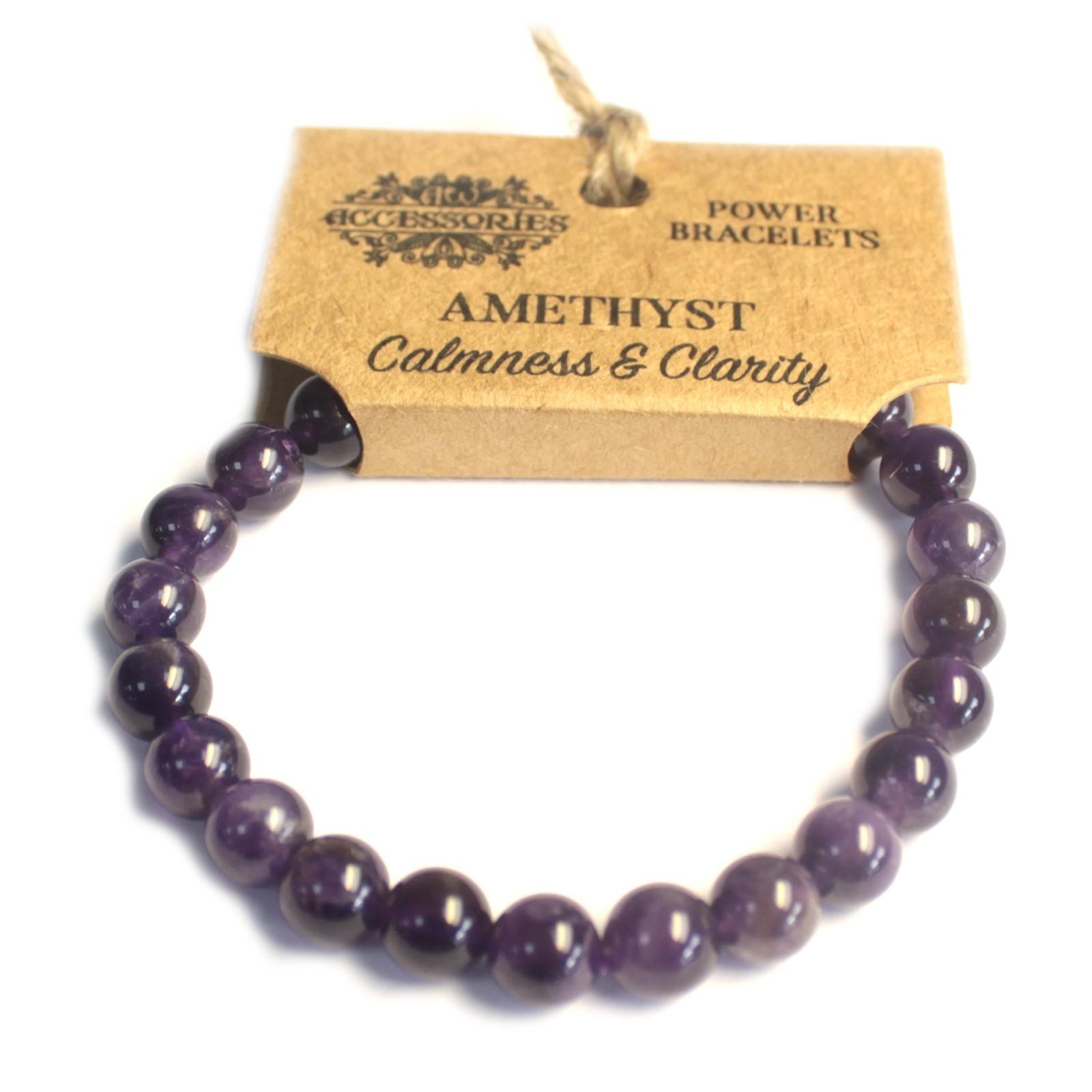 Power Bracelet Amethyst