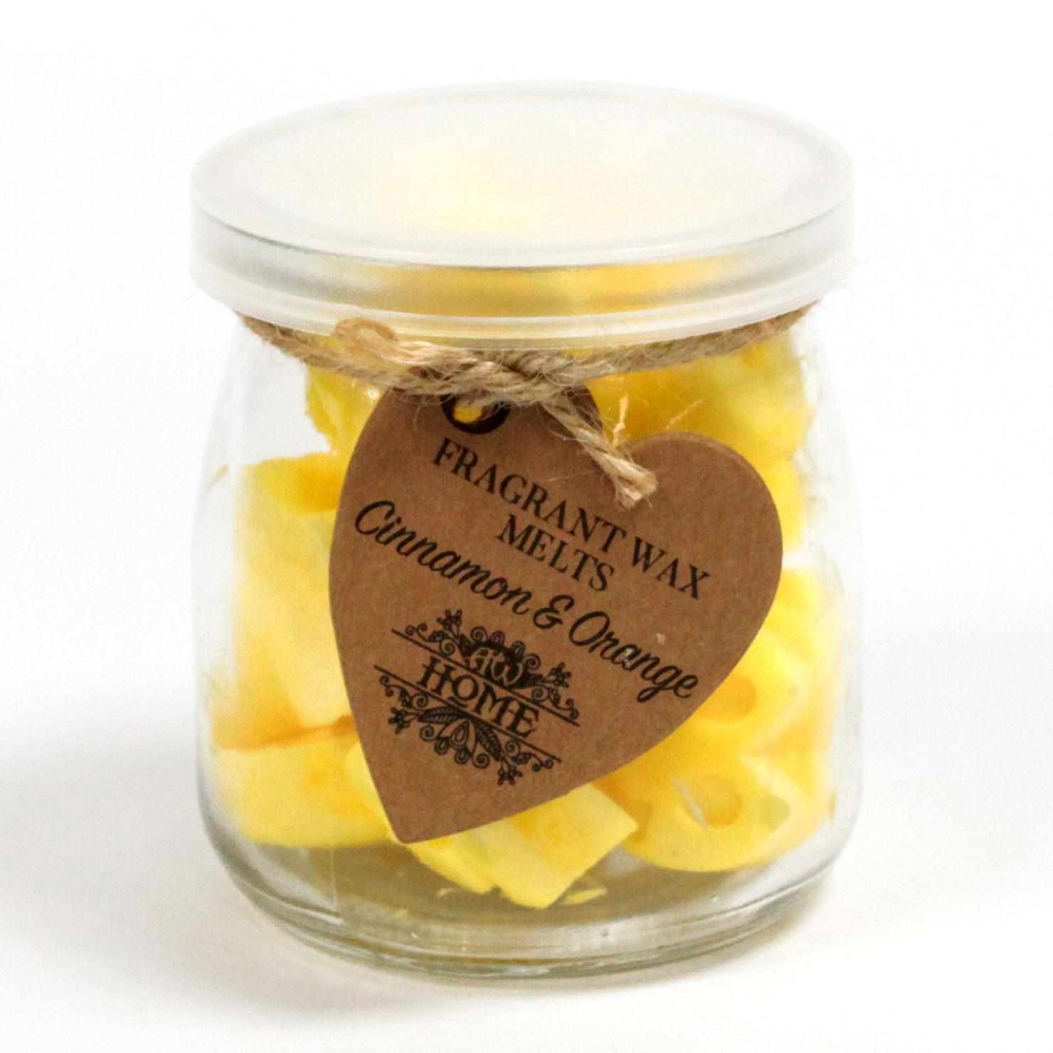 Soywax Melts Jar Cinnamon   Orange