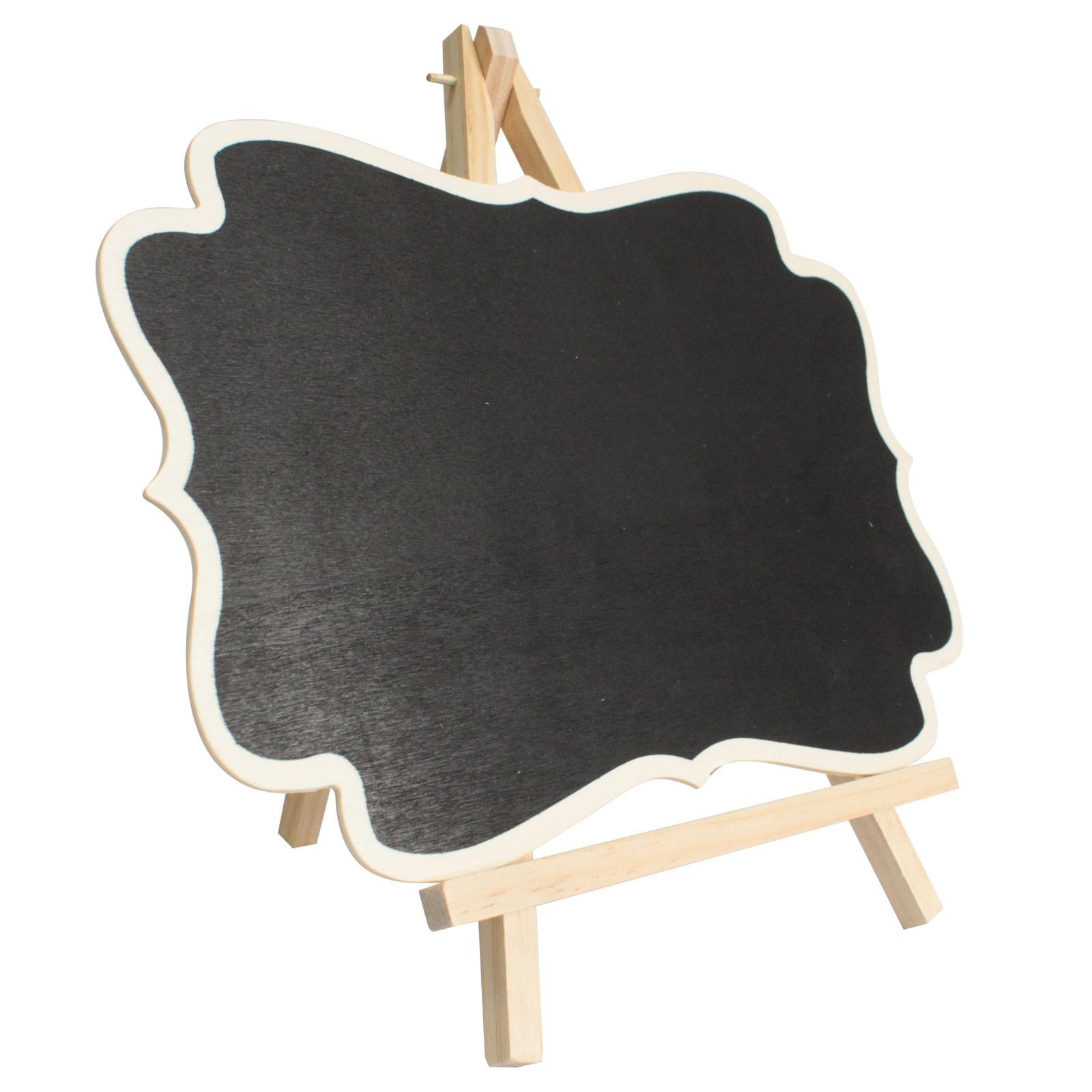 Large Blackboard Fixed on Stand