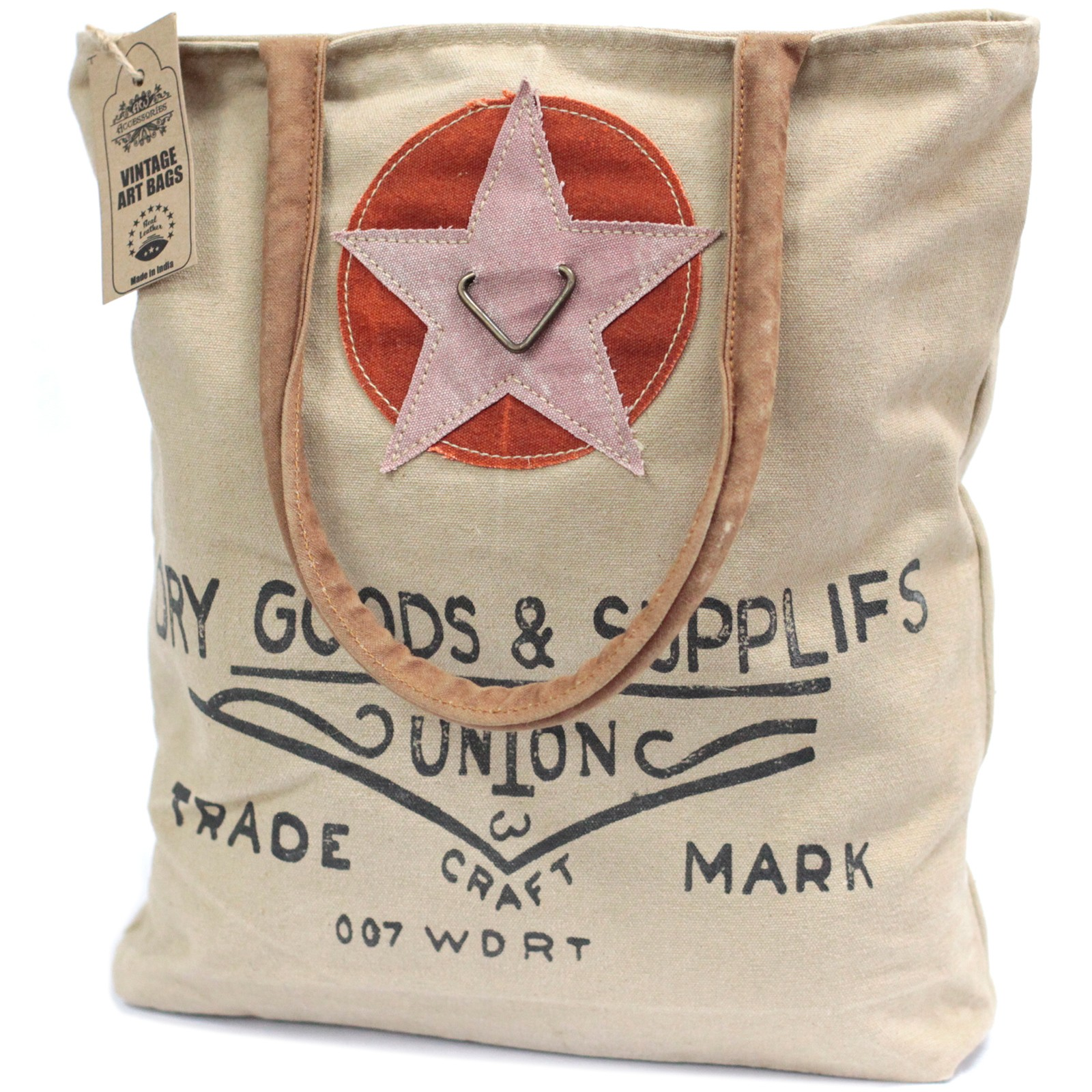 Vintage Bag Dry Goods   Supplies
