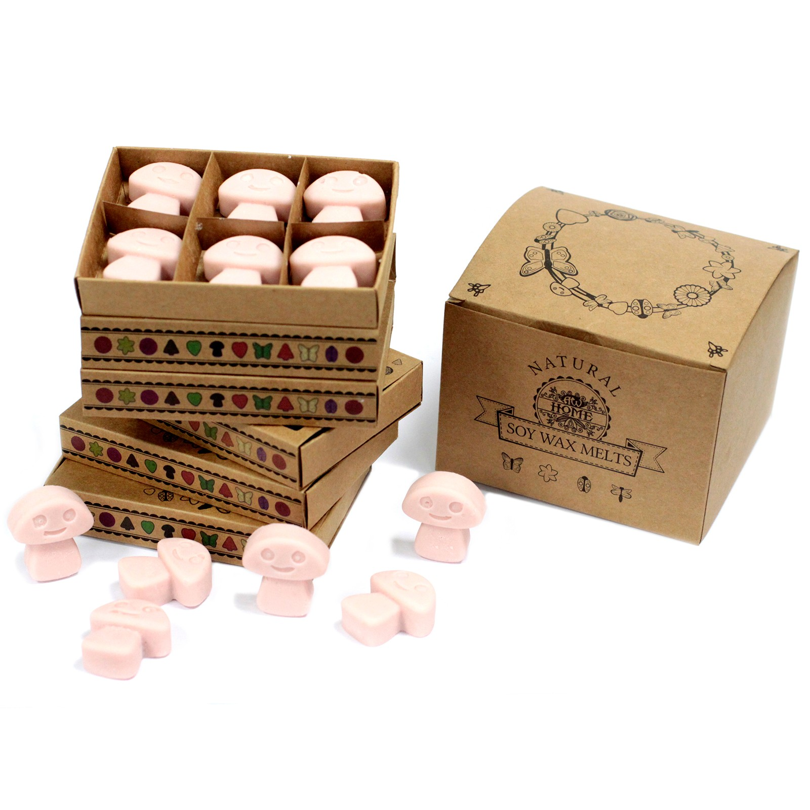 Box of 6  Wax Melts Old Ginger