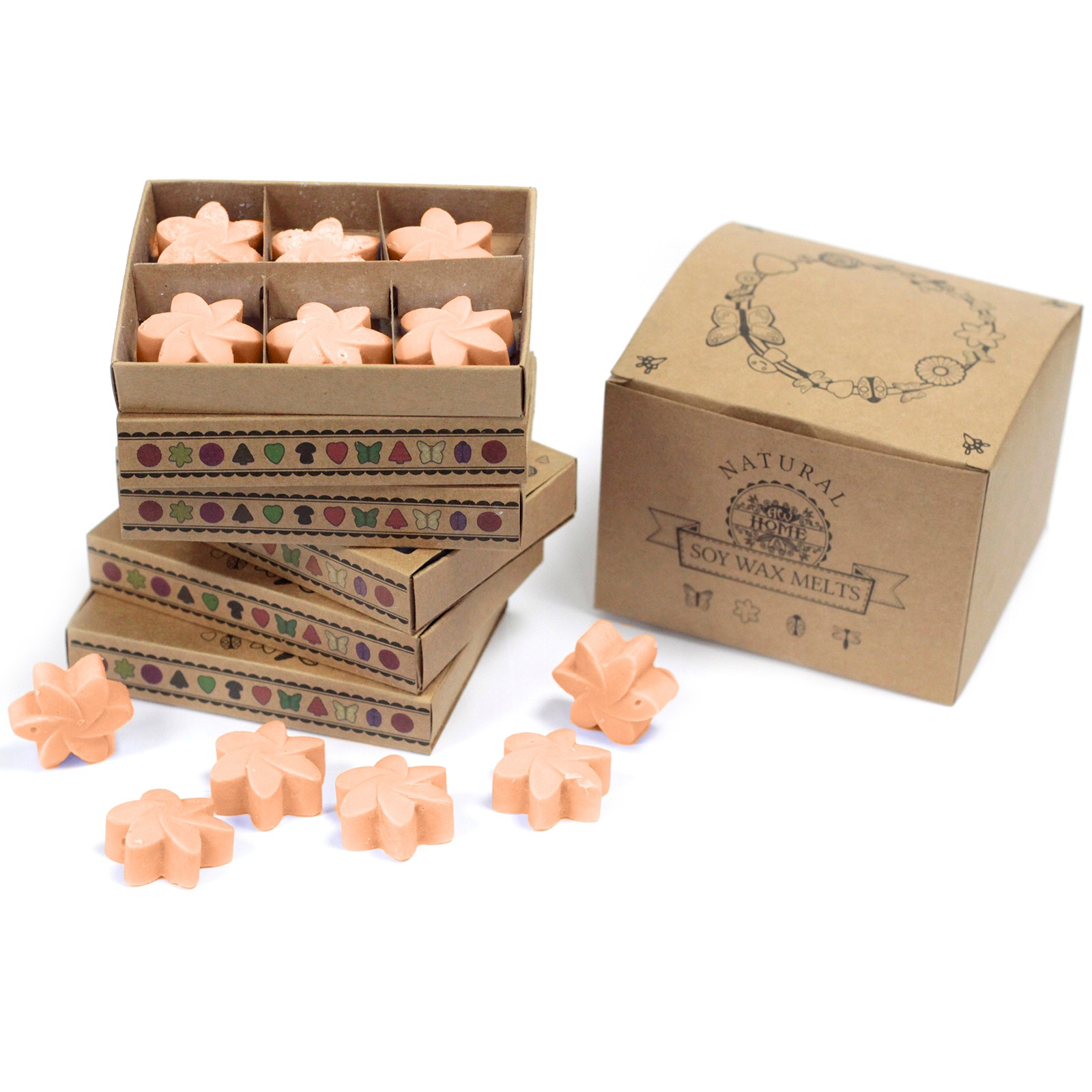 Box of 6 Wax Melts Tuberose