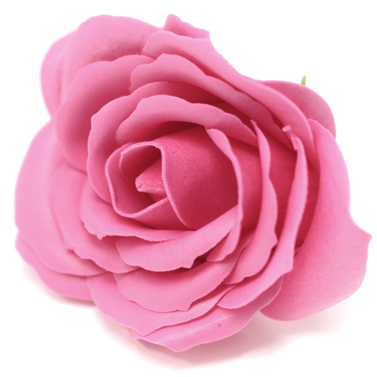 Craft Soap Flowers Lrg Rose Rose