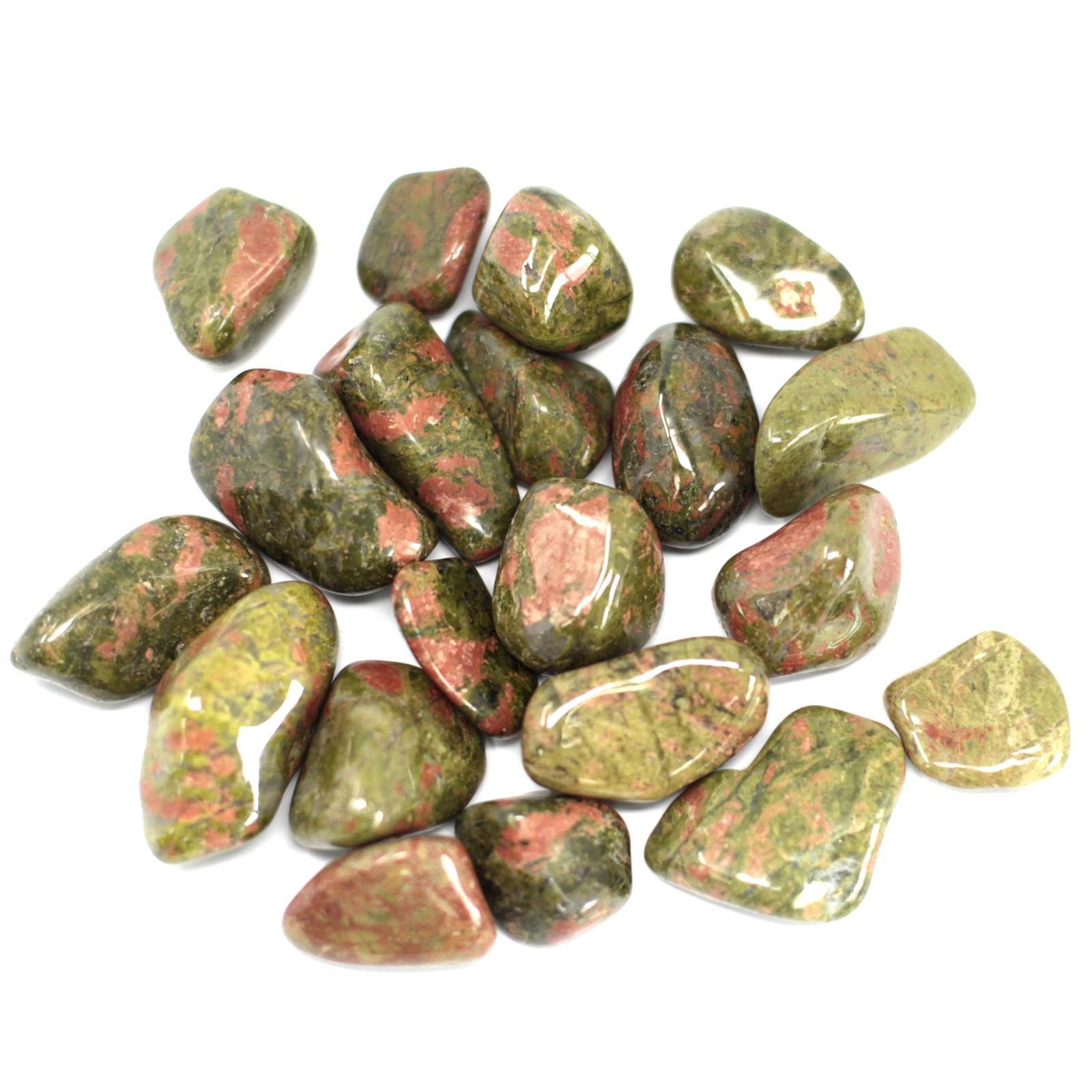 African Gemstone Unakite