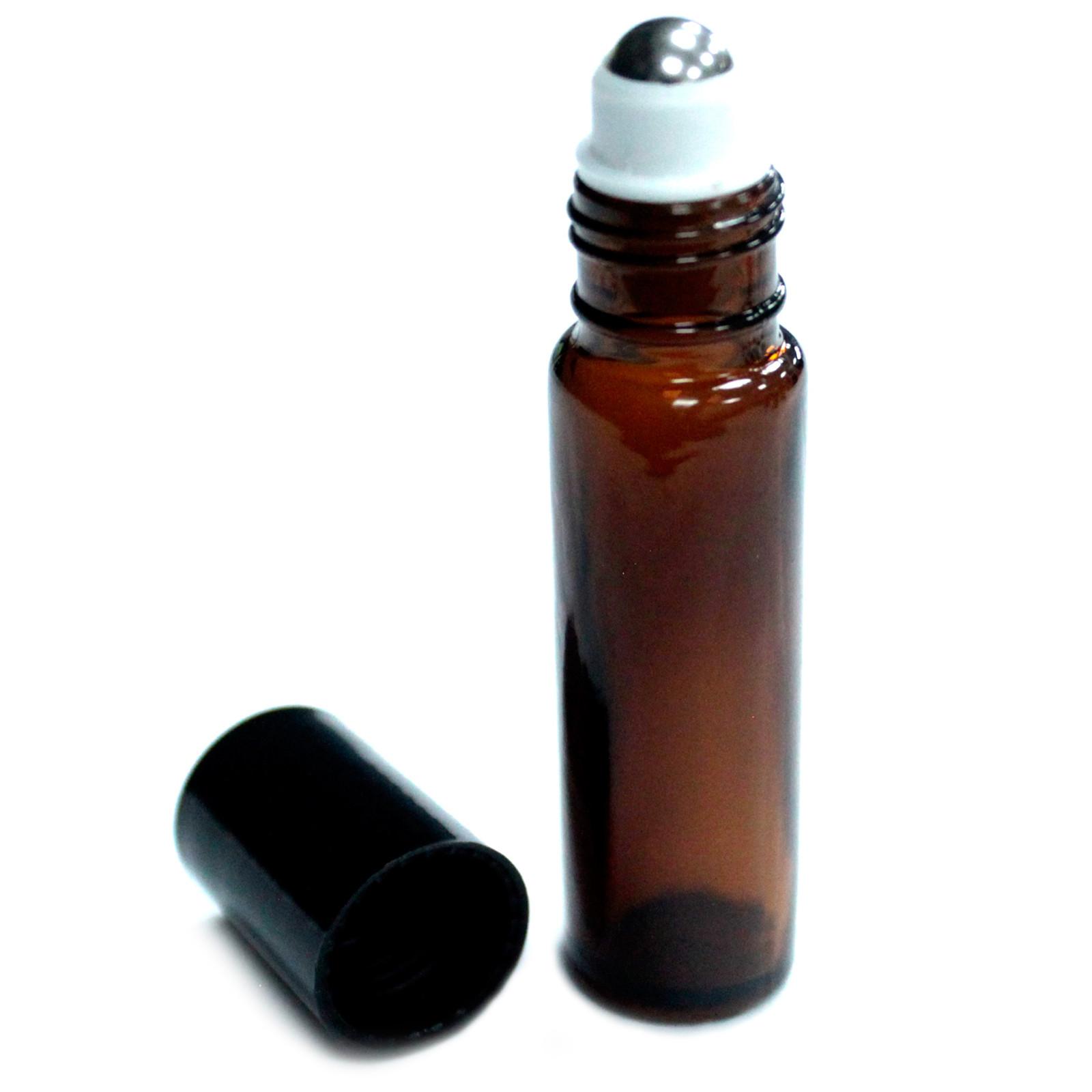 10ml Amber Roller Bottles