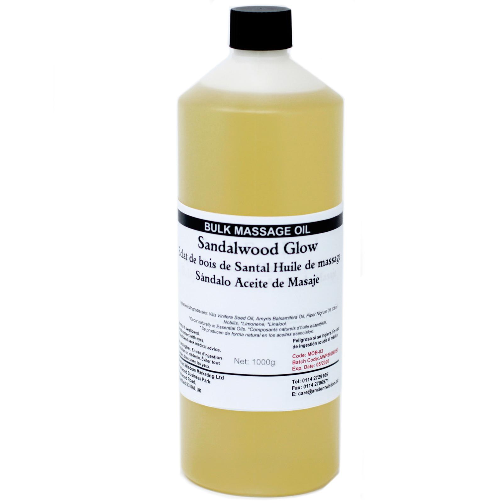 Sandalwood Glow 1Kg Massage Oil