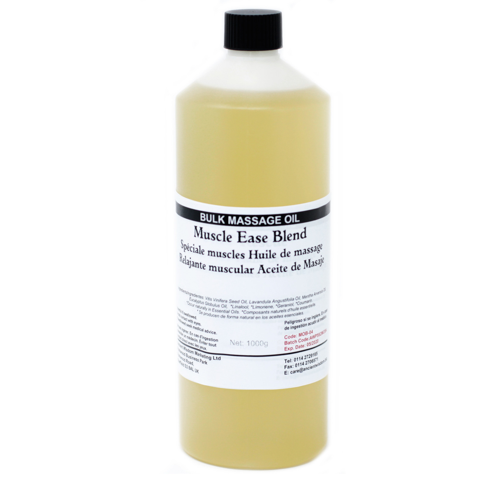 Muscle Ease 1Kg Massage Oil