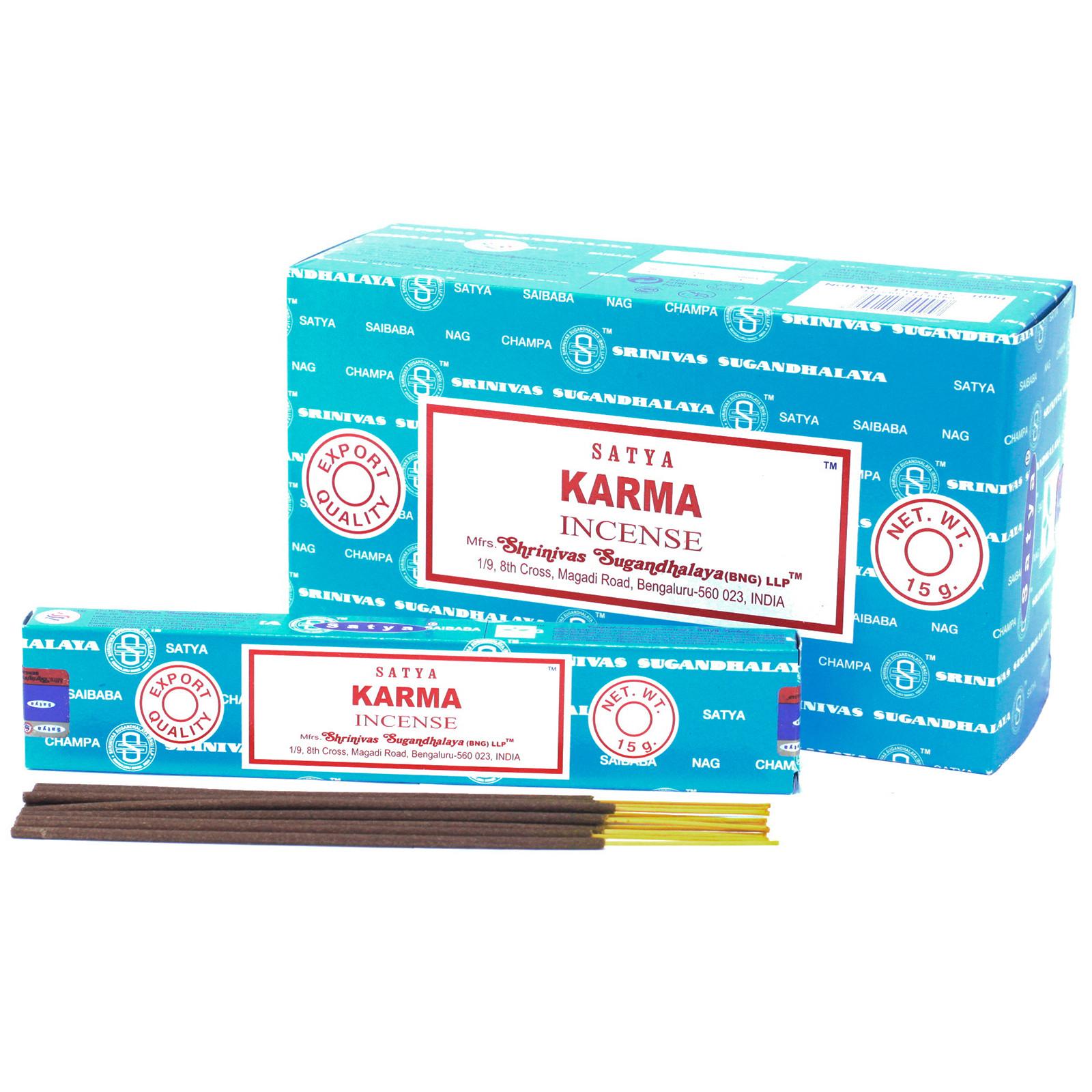 Satya Incense 15gm Karma