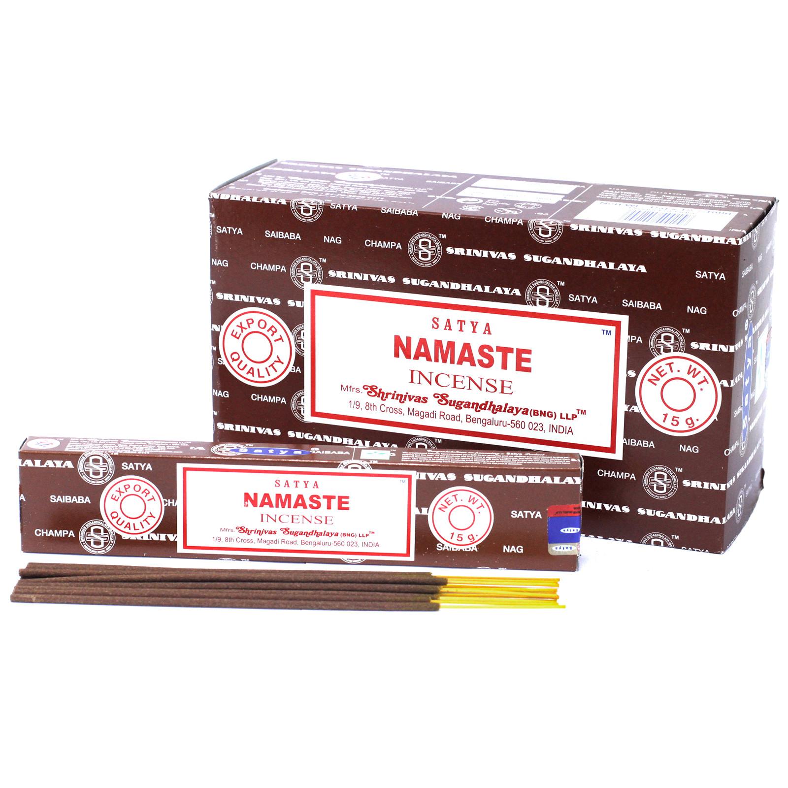 Satya Incense 15gm Namaste