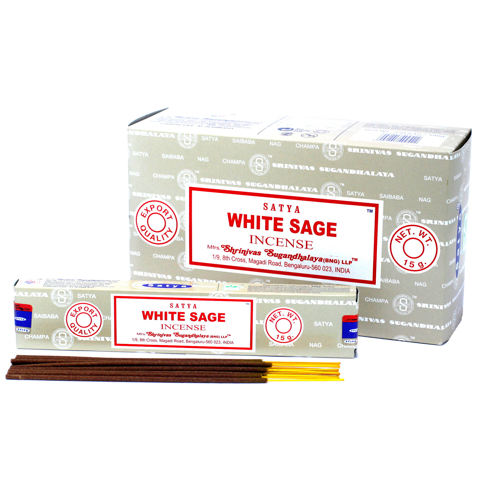 Satya Incense 15gm  White Sage