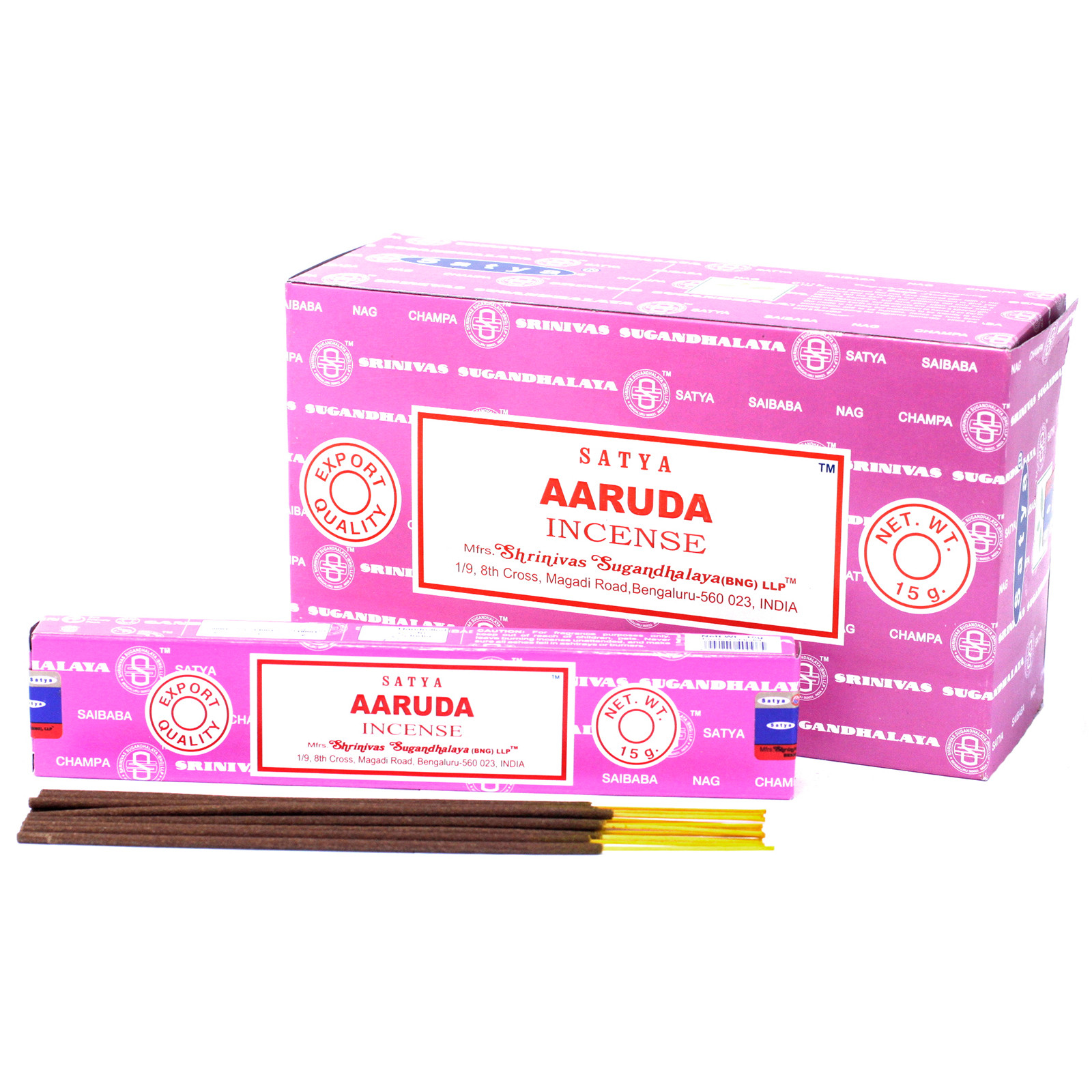 Satya Incense 15gm  Aaruda
