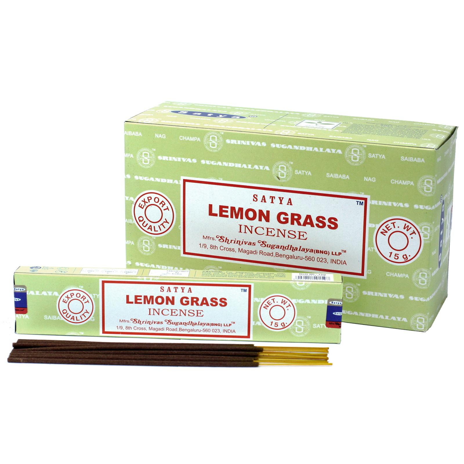 Satya Incense 15gm Lemongrass