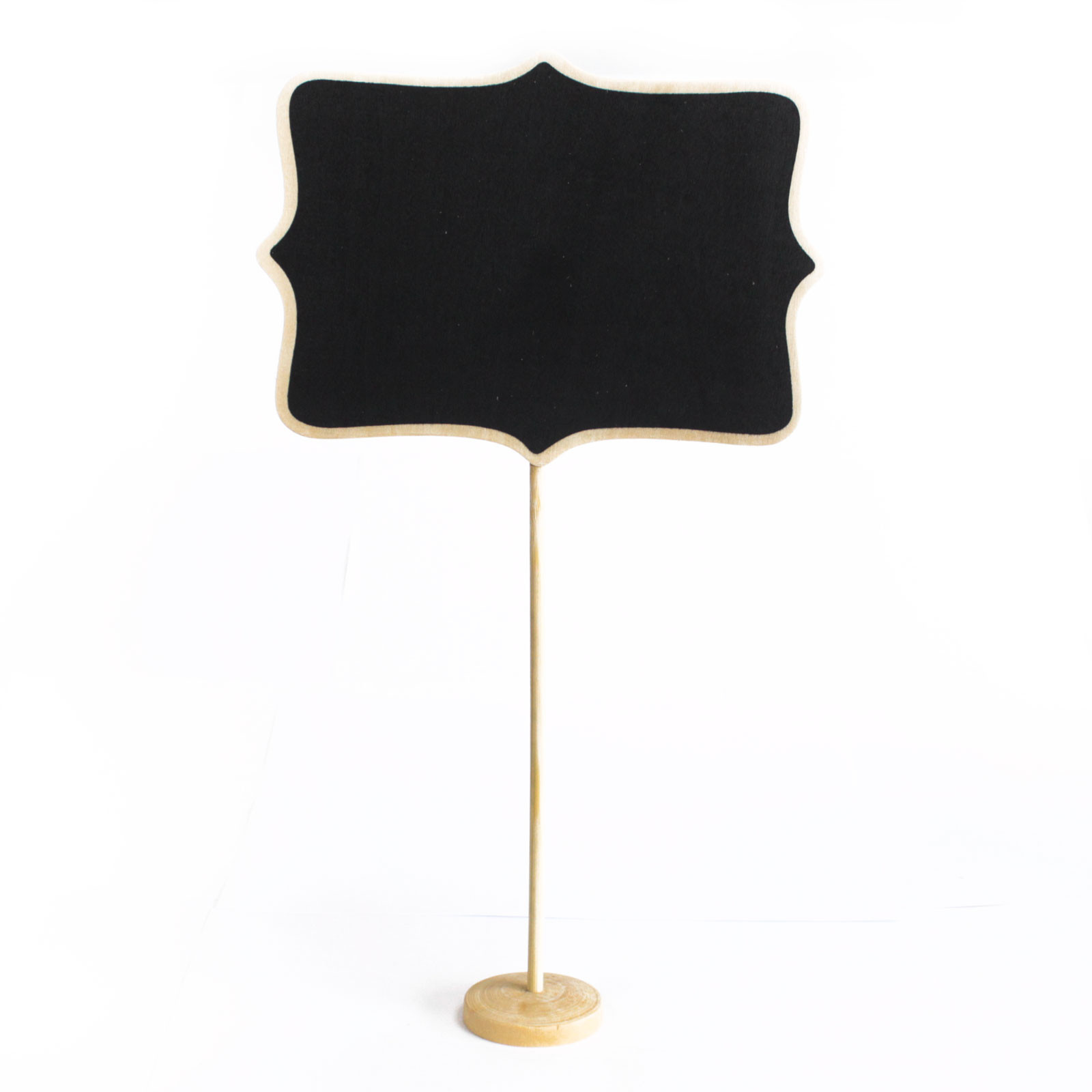 Large Blackboard Sign on Stand