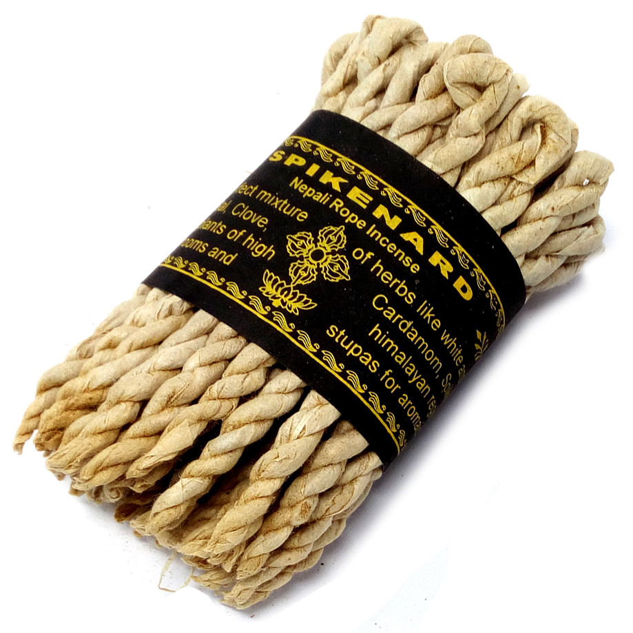 Pure Herbs Spikenard Rope Incense