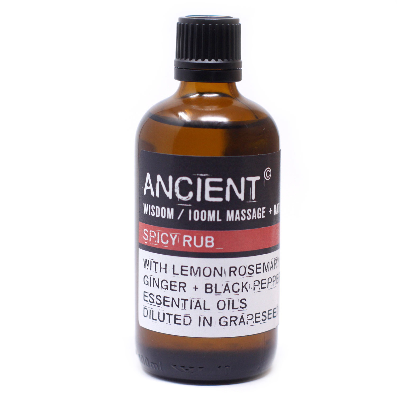 Spicy Rub Massage Oil 100ml