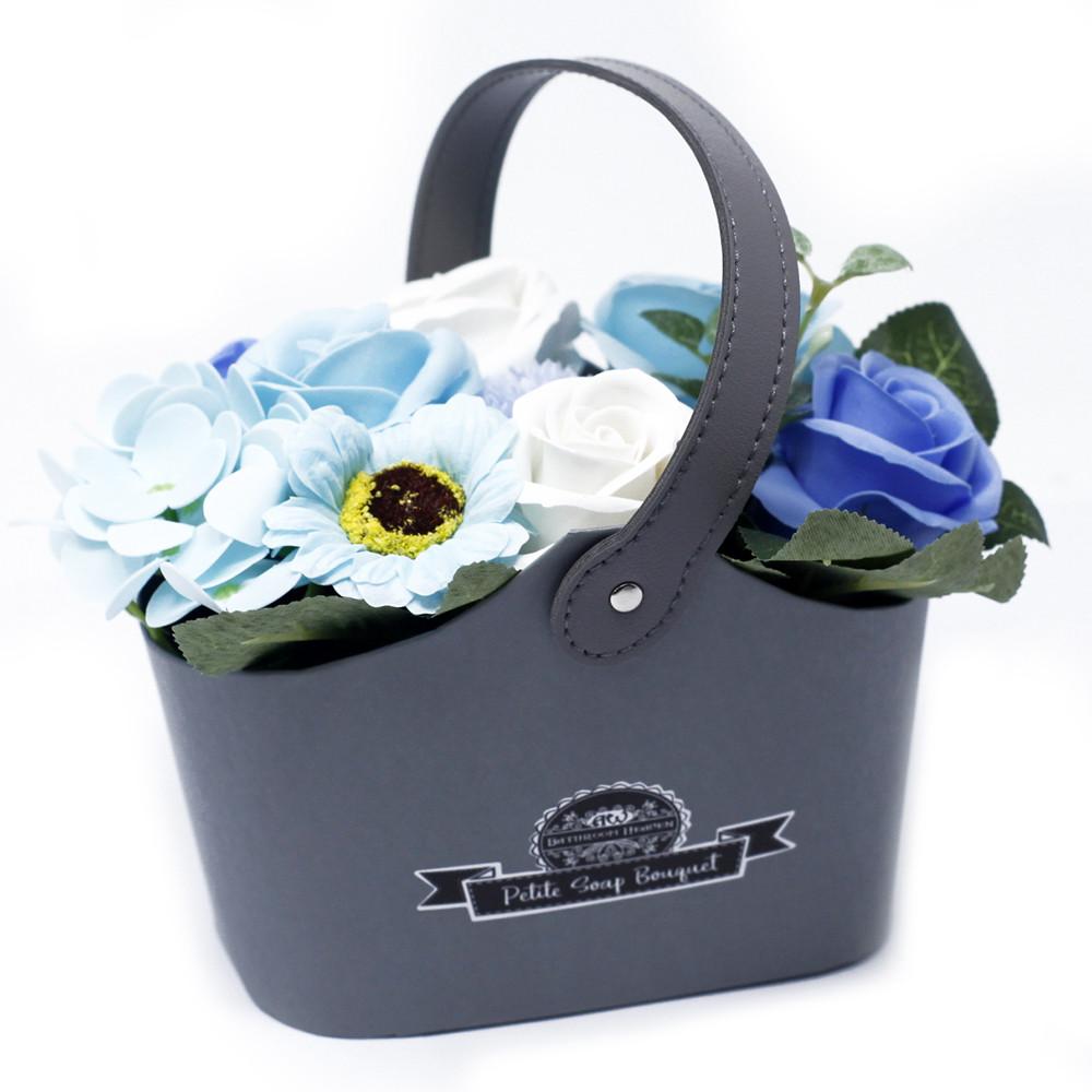 Bouquet Petite Basket Soothing Blues