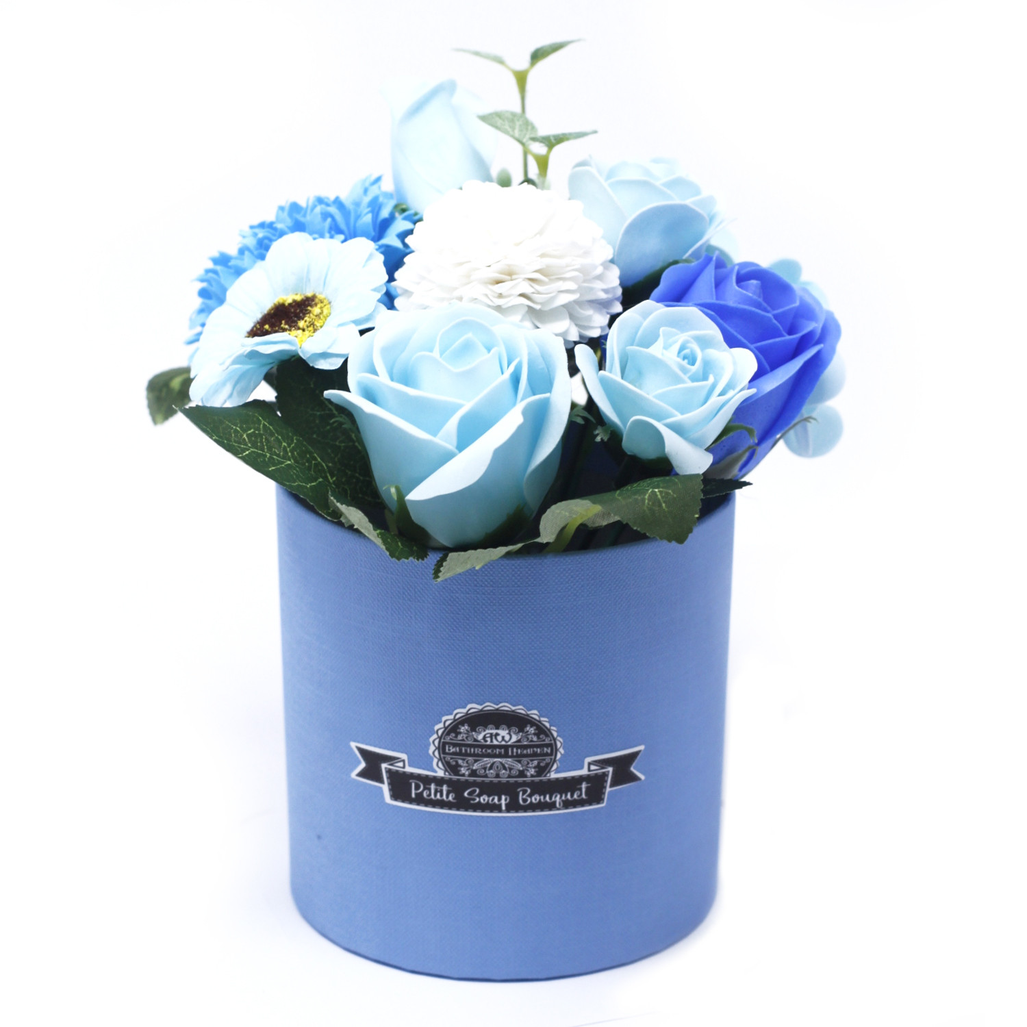 Bouquet Petite Gift PotSoothing Blues