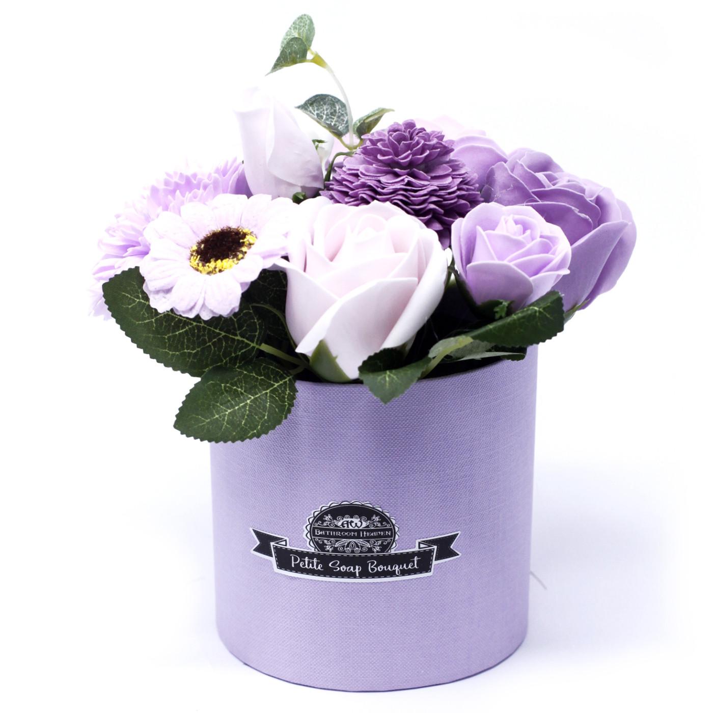 Bouquet Petite Gift Pot Soft Lavender