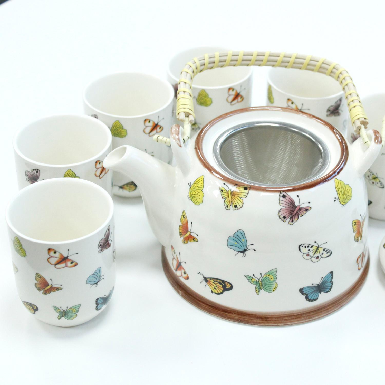 Herbal Teapot Set Butterflies