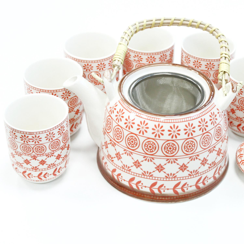 Herbal Teapot Set Amber