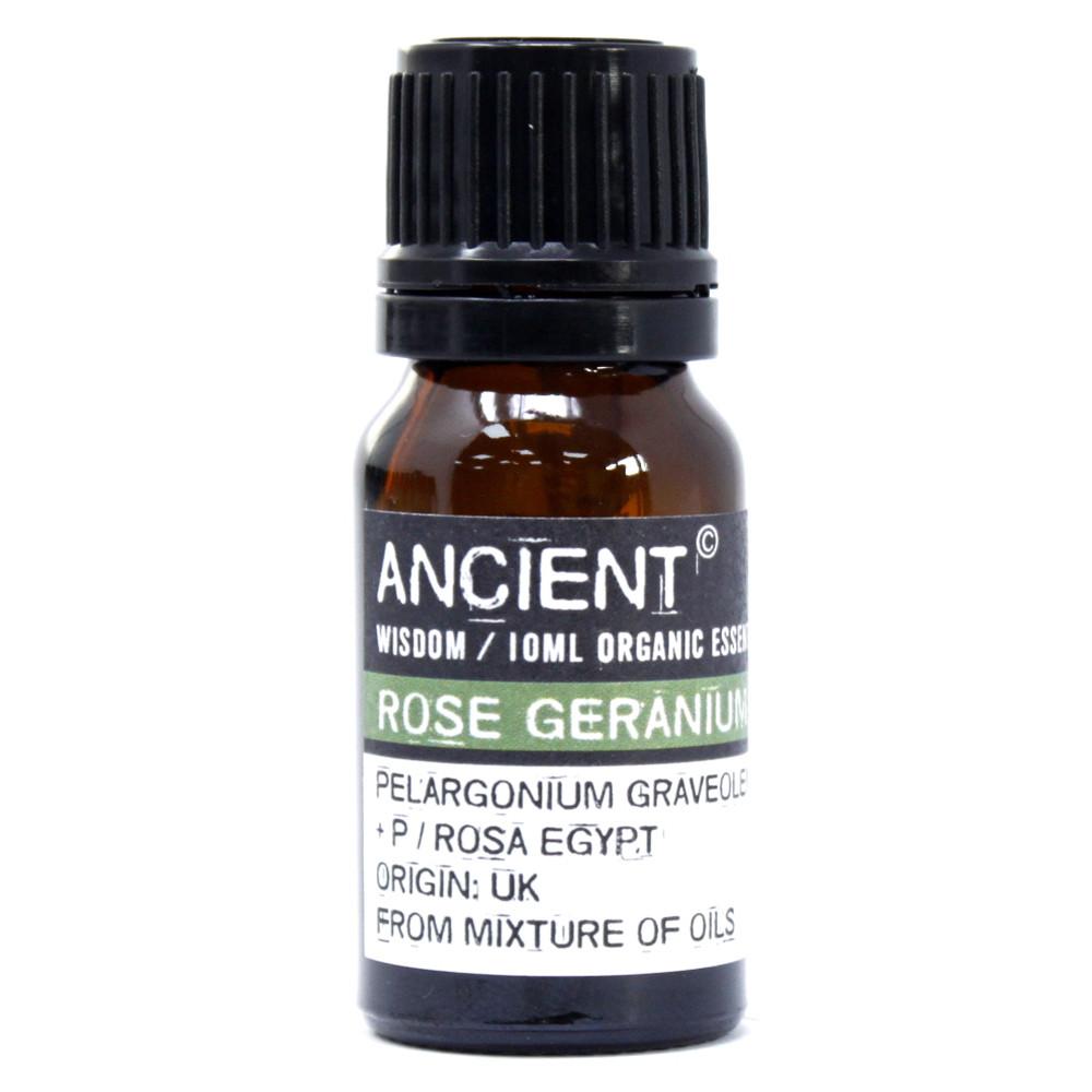 Rose Geranium Organic Essential Oil 10ml