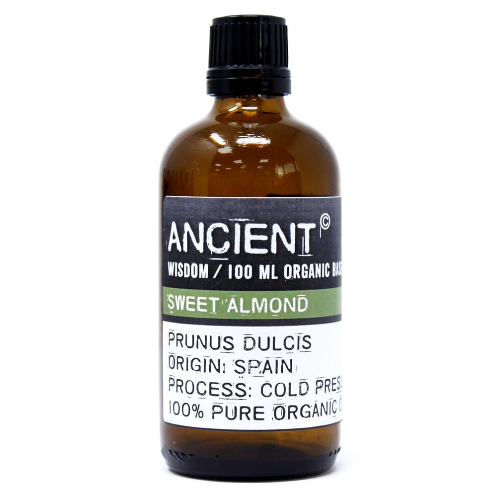 Sweet Almond Organic Base Oil 100ml