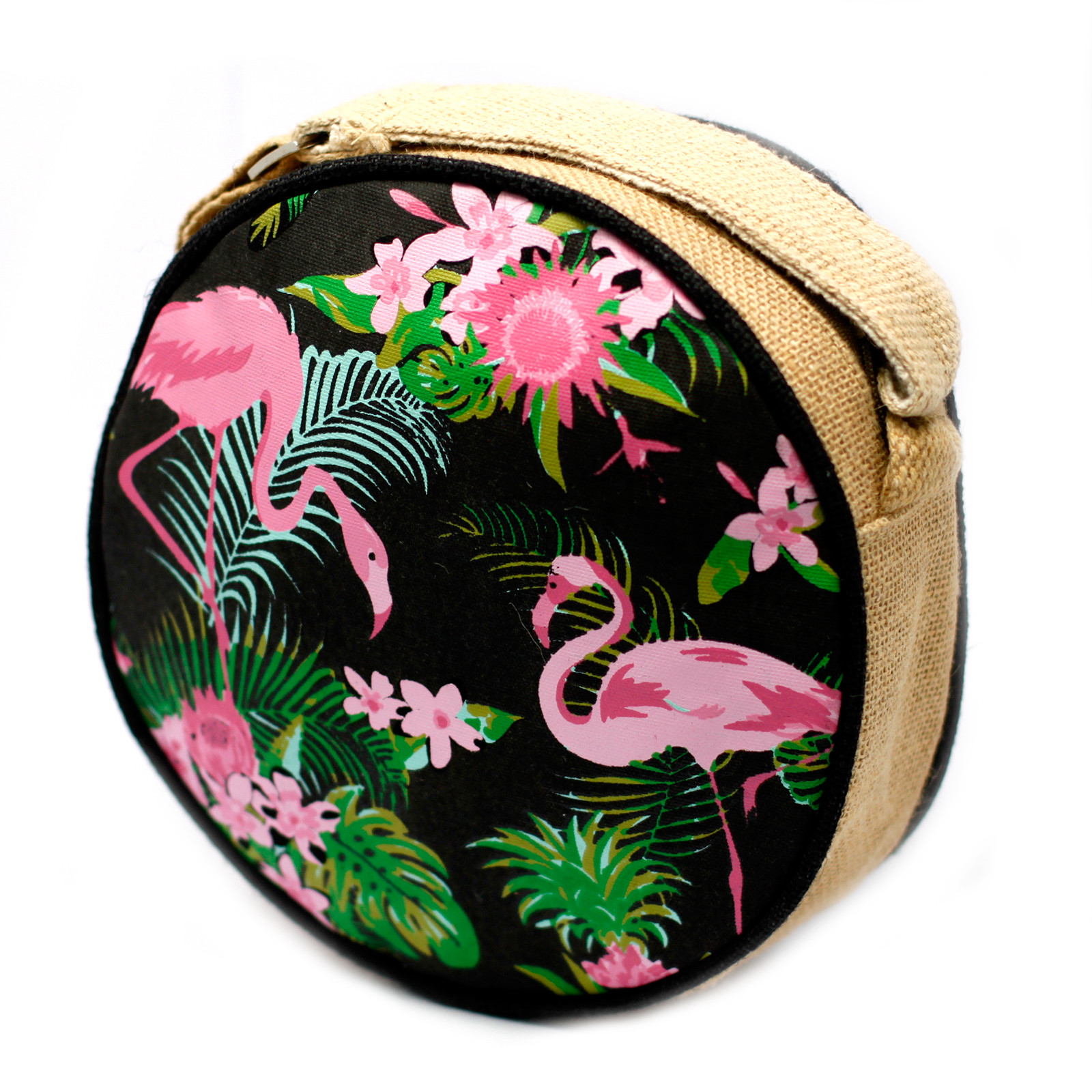 Eco Round Bags Flamingos