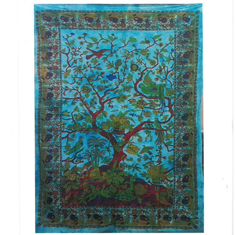 Cotton Wall Art Tree of Life Classic