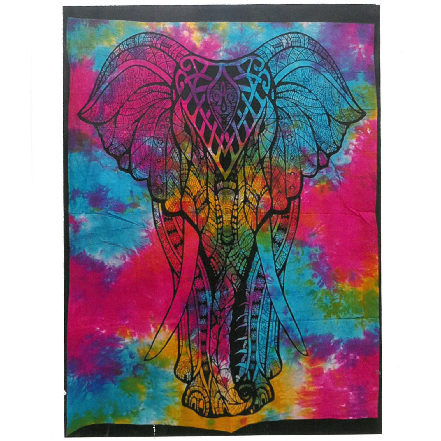 Cotton Wall Art Elephant