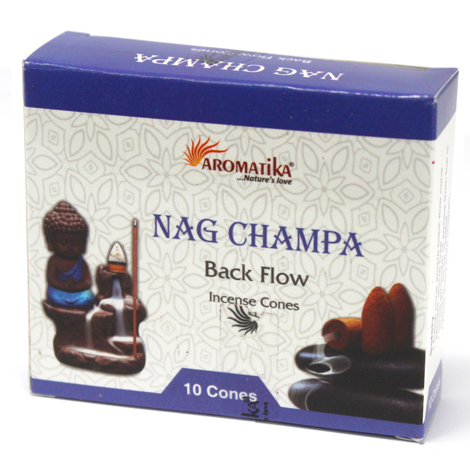 Aromatica Backflow Incense Cones Nag Champa
