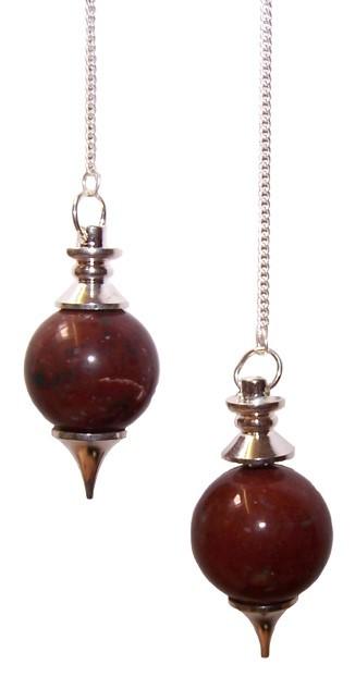 Sphere Pendulums Red Jasper