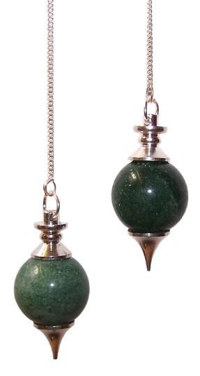 Sphere Pendulums Green Aventurine