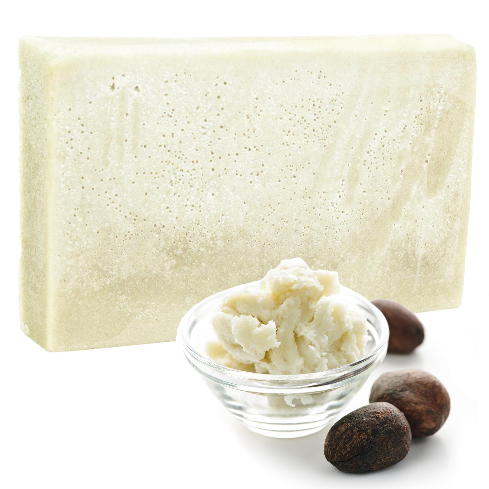 Double Butter Luxury Soap Earthy Oils SLICE 100g