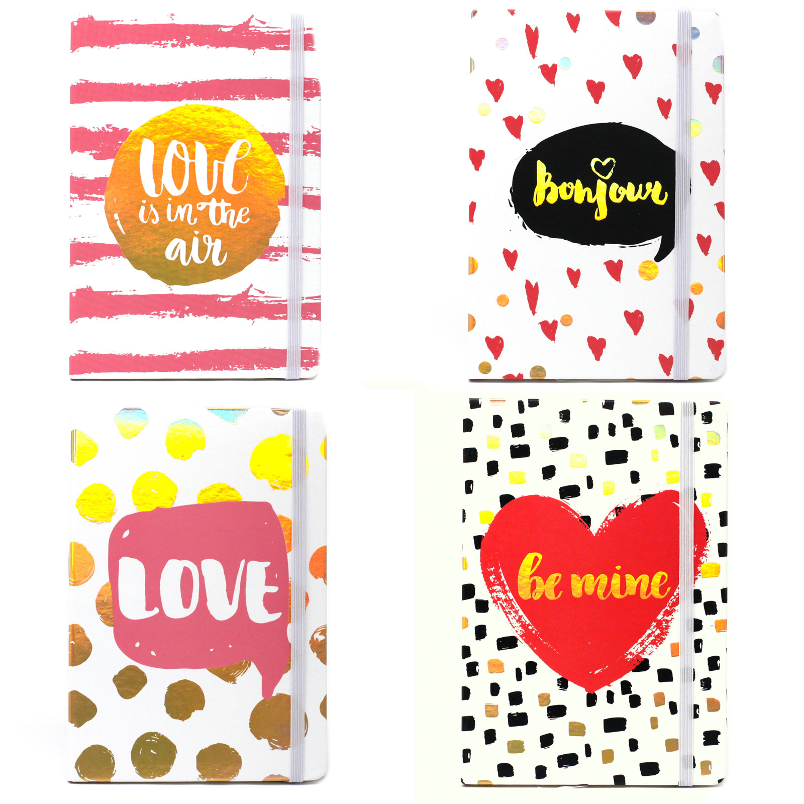 Cool A5 Notebook Assorted Designs Funky Love