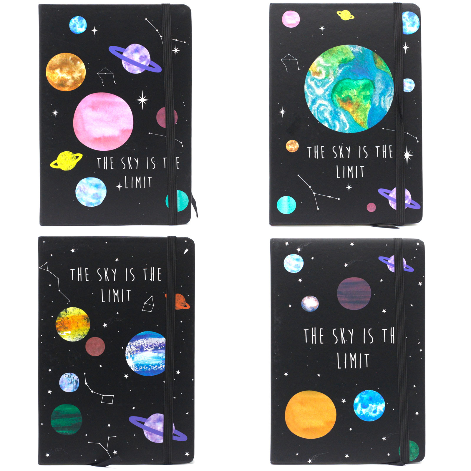 Cool A5 Notebook Assorted Designs Sky is the Limit