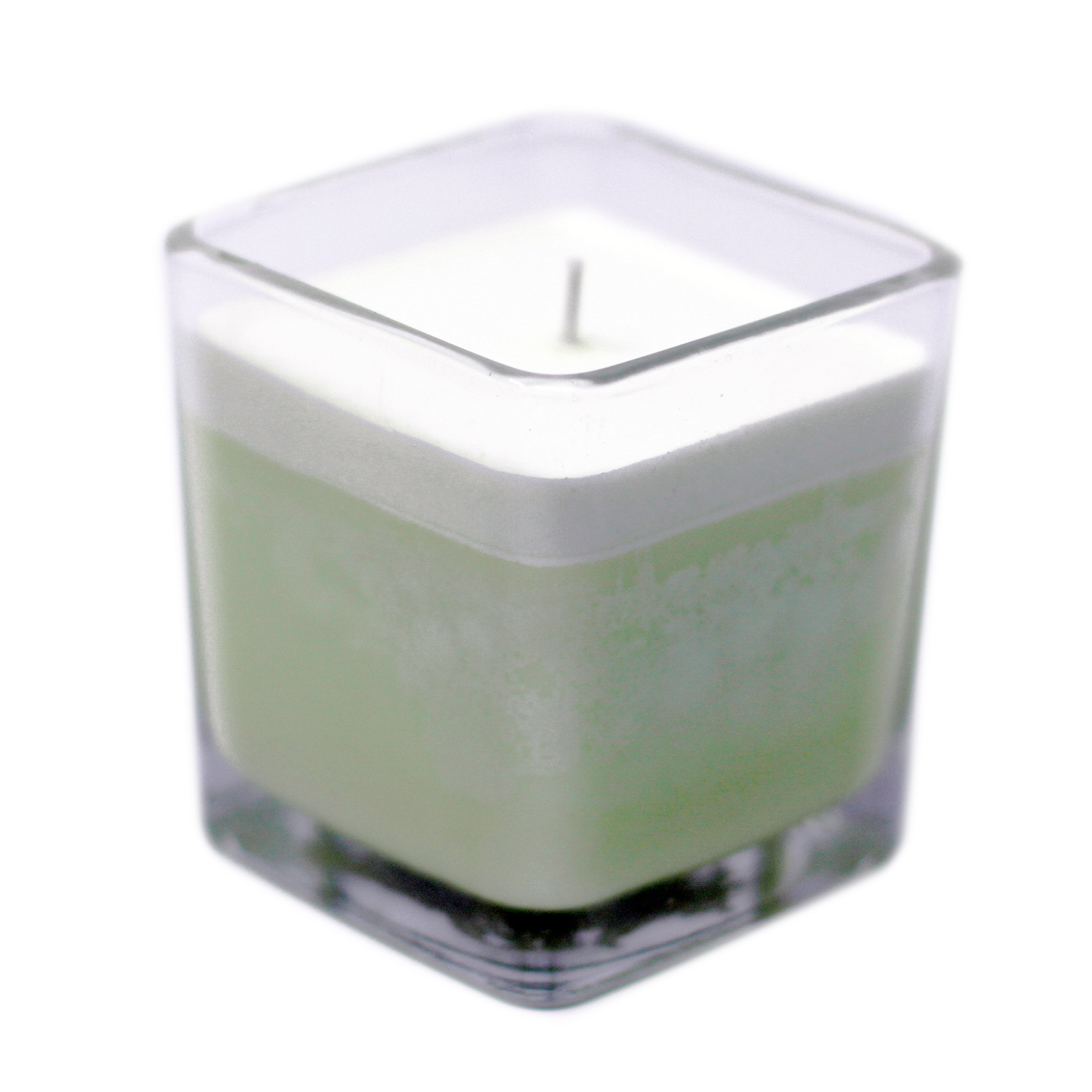 White Label Soy Wax Jar Candle Cucumber   Mint
