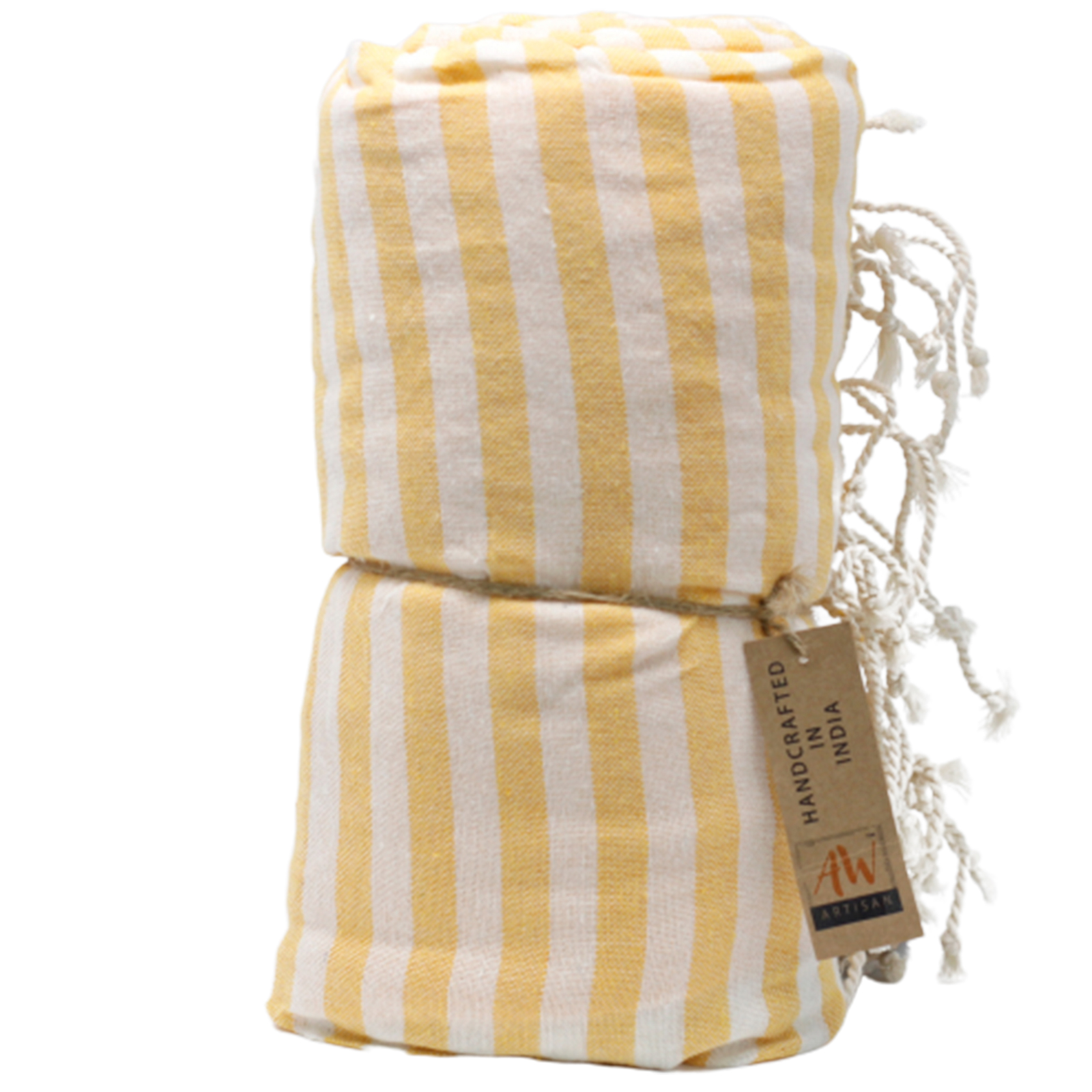 Cotton Pario Towel 100x180 cm Sunny Yellow