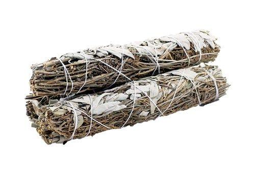 Smudge Stick White Sage   Lavender 22 5cm