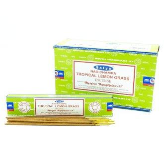 Satya Incense Sticks 15g Tropical Lemongrass