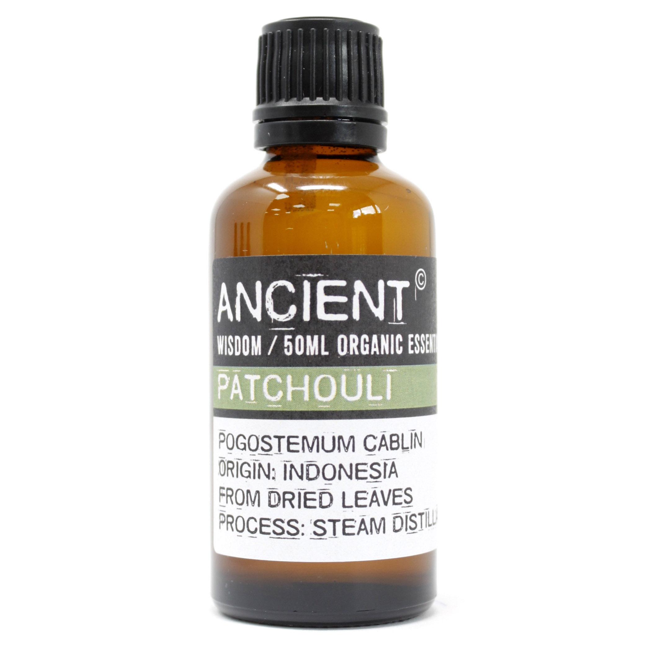 Patchouli Organic Essential Oil 50ml