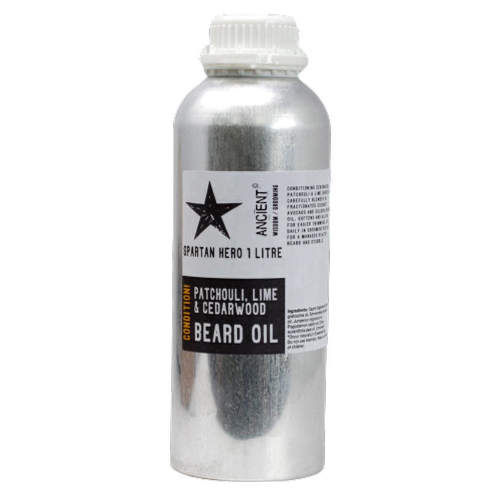 1 Litre Beard Oil Spartan Hero Condition