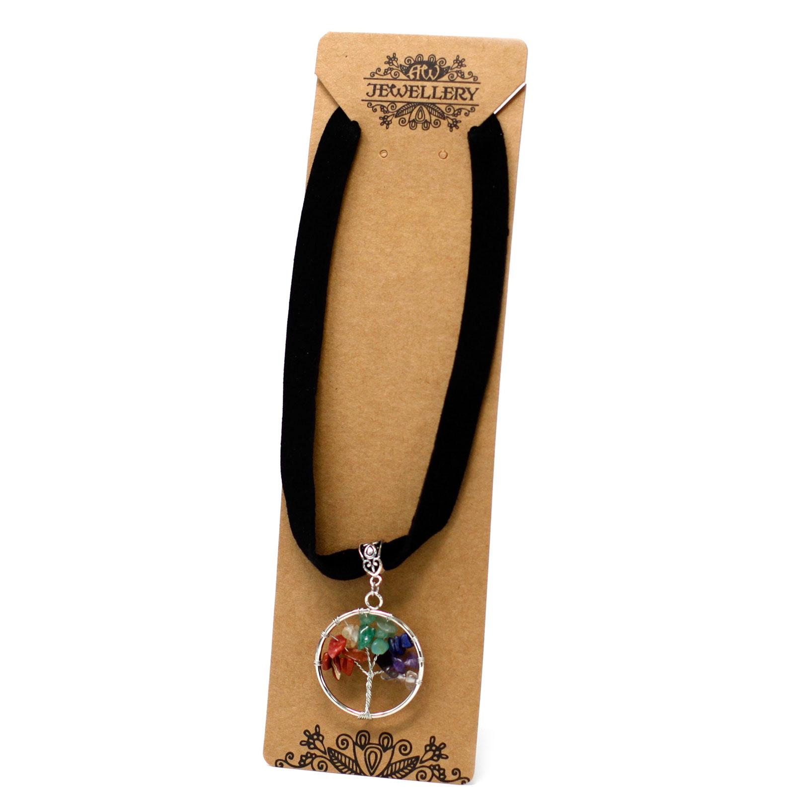 Chakra Tree of Life Necklace Small