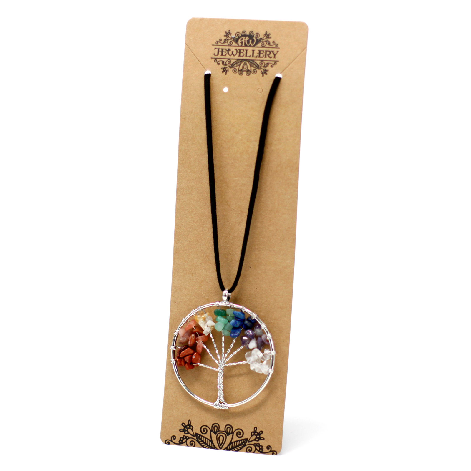 Chakra Tree of Life Necklace Large
