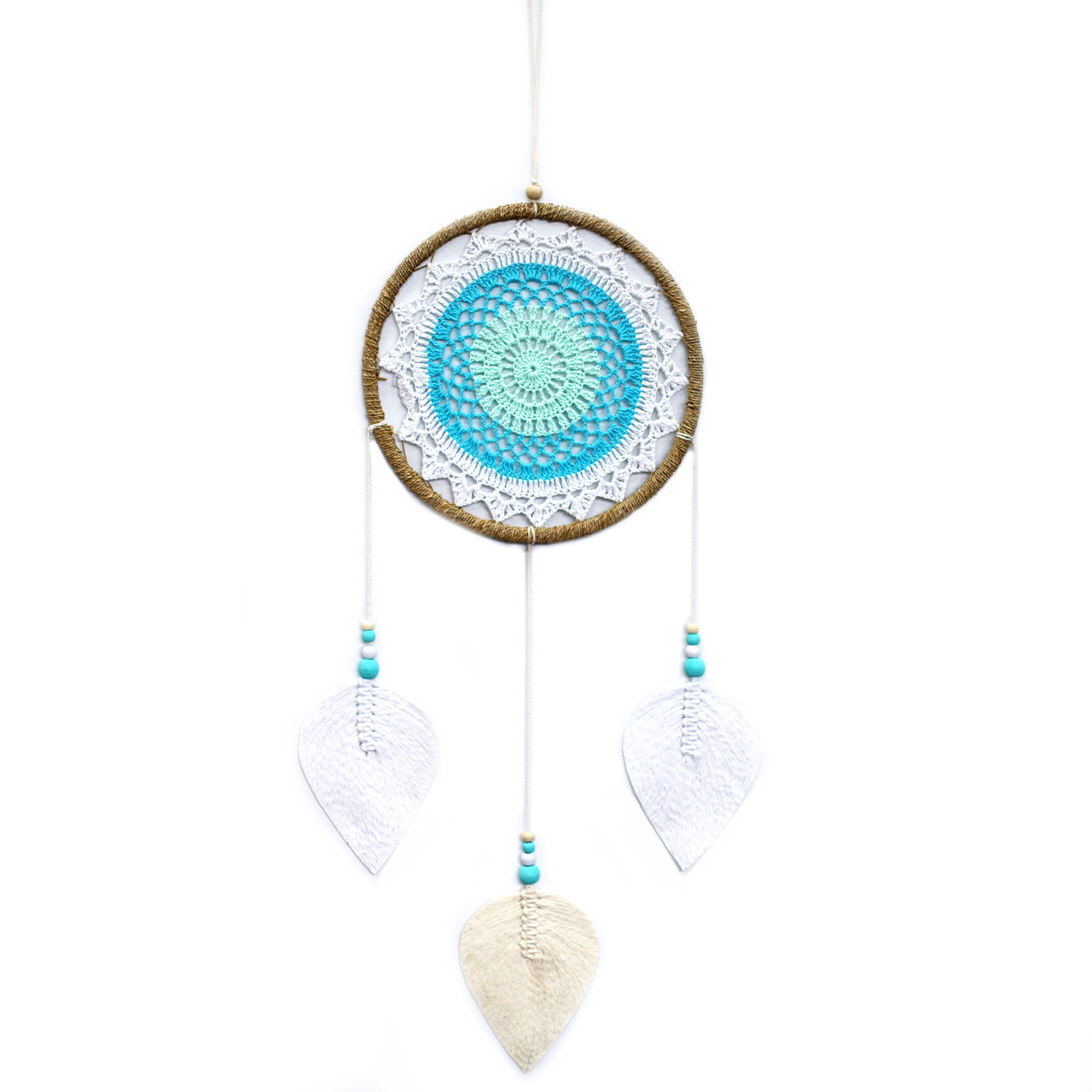 Dream Catcher Large Turquoise Elemental Spirits